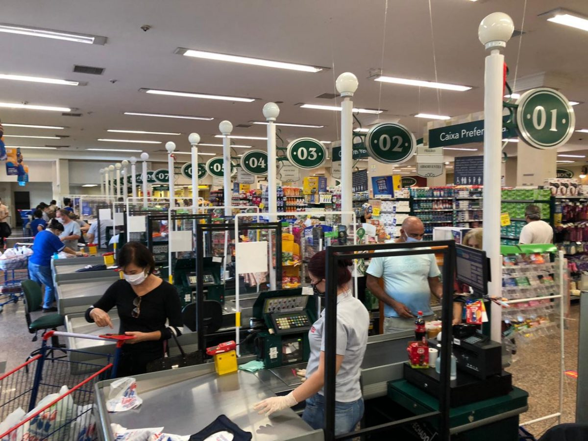Supermercados Cidade Canção reforça medidas de segurança para prevenção à Covid-19