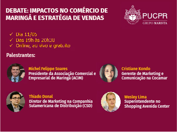 Diretor de marketing da CSD participa de Webinar da PUC/PR