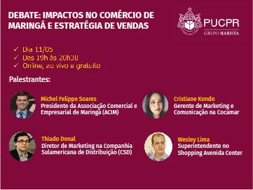 Diretor de marketing da CSD participa de Webinar da PUC/PR