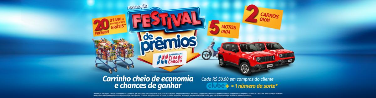Festival de Prêmios – Cidade Canção